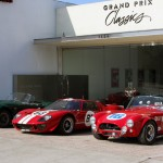 Showroom 2 Cobras and GT40