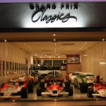 Showroom 3 Formula One Cars