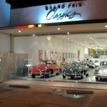 Showroom 3 Porsches