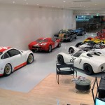Showroom GT40, Hertz Mustang, Cobra