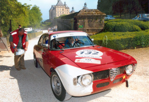 APRIL 2007 - Tour (de France) Auto: 1965 Alfa Romeo GTA 1600, 1st in class in several special stages, 1st place Circuit Charade