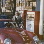 Dad Mom Mark - red porsche