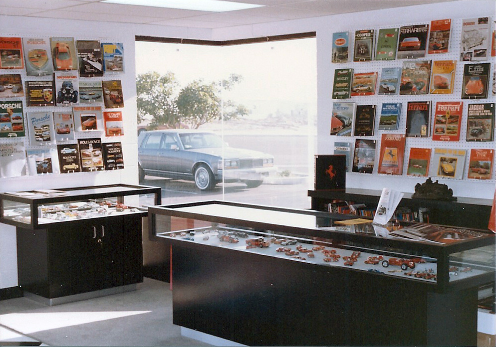 Pre Remodel Showroom Grand Prix Classics La Jolla Calif