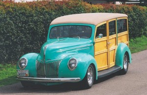 Ford Hot Rod Woodie Wagon